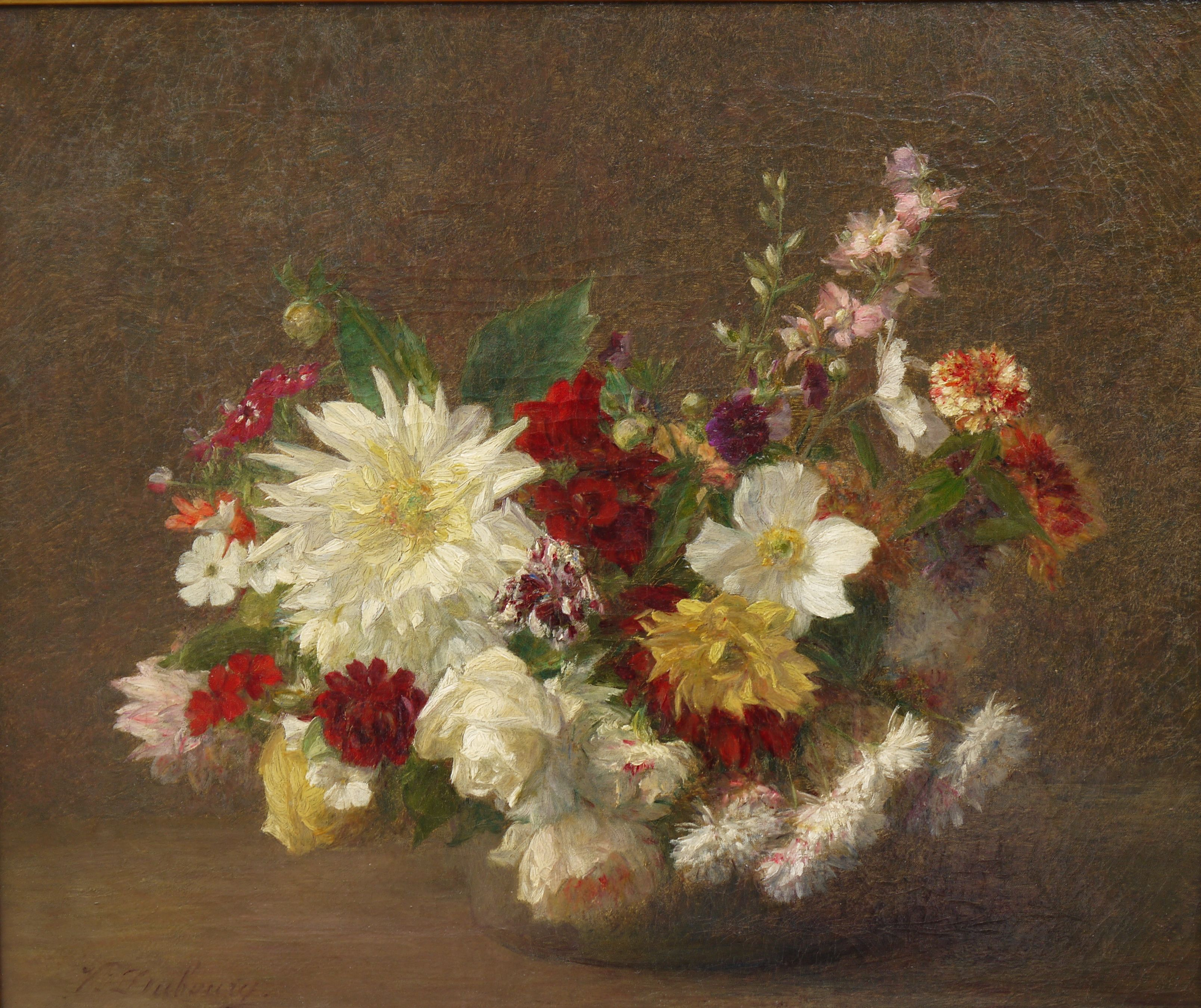 VICTORIA FANTIN-LATOUR the canon gallery 19th modern european victorian oil art dealer uk london oundle